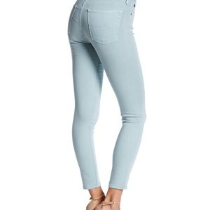 AG The Farrah Skinny Crop High-Rise skinny Jean